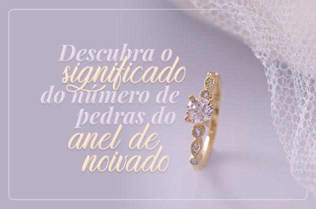 Descubra o significado do número de pedras no anel de noivado